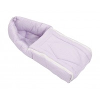 Affaires Baby Wrap / Swaddle / Blanket 3 in 1 Built - carry bedding set Gadi (Lavender) W-40082