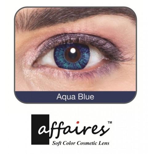 560cf0408f9 Affaires Color Contact lenses Yearly Disposable Aqua Blue Colour ...