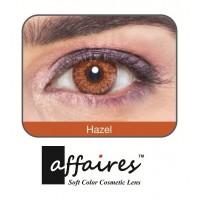 Affaires COLOR Yearly CONTACT LENSES Three Tone (1 Lens Pack) (Hazel) / A-Hazel-3Tone(1pcs)-00