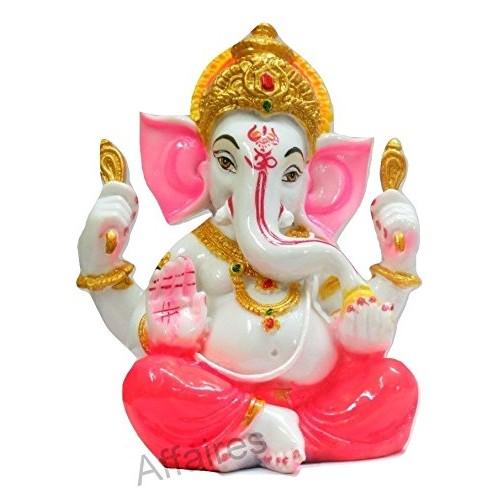 Ganpati Car Dashboard Idol Ganpati Murti Divine Blessing Lord Ganesh