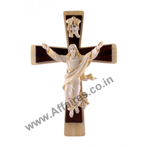 Home Interior Jesus: Lord Jesus Christ On Cross Idol Statues Wall Decor